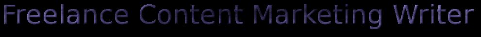 Freelance Content Marketing Writer